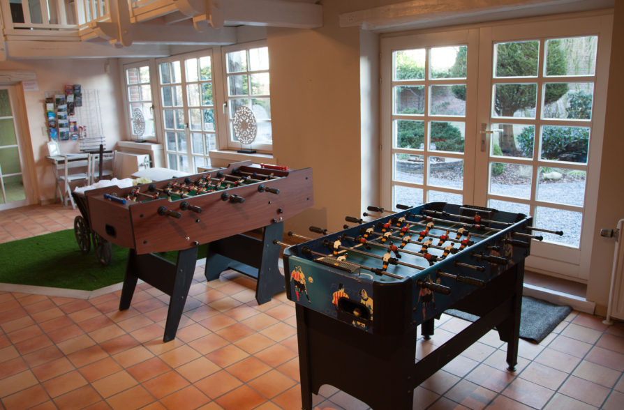 The Games and Relaxation Room with Bar